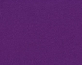 Michael Miller Fabric - Cotton Couture Solids - Purple - By The Yard