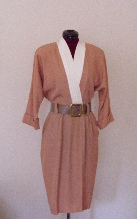 Vintage 1940's Classic Dress