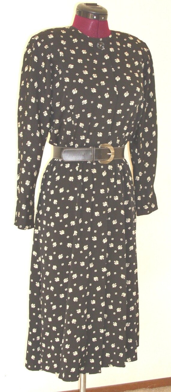 Vintage Little Black ShirtDress