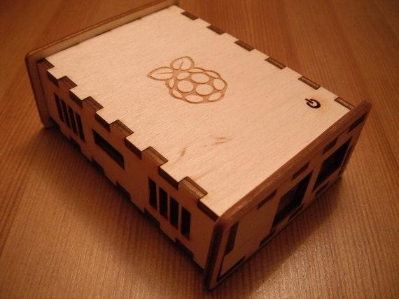 Raspberry HE-Case-Huts Geh/äuse beige