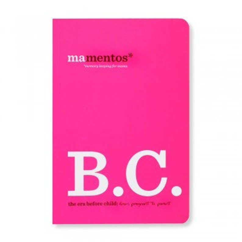 Mamentos B.C. Before Child Pregnancy Journal image 0