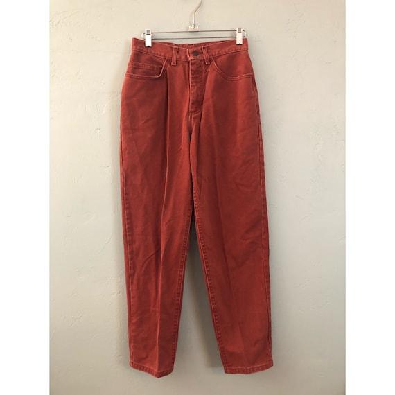 Vintage Burnt Orange Lee Jeans