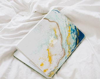 MacBook Decal - Laptop Skin - MacBook Marble Decal - Marble Decal - MacBook 12 in Skin - Blue MacBook Pro - MacBook Air Skin