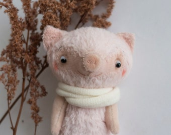 Pig Miniature Collectible Personalised Toy - 11cm