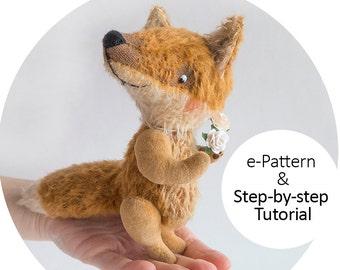 Teddy Fox 12cm - Step-by-step Tutorial with e-Pattern PDF