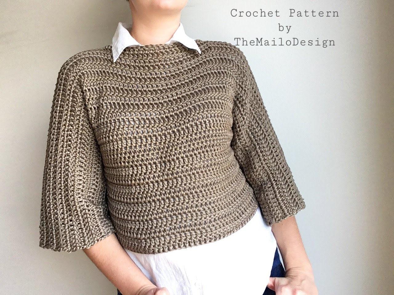 Crochet pattern for women, Crochet Pattern Clothing, Crochet ...