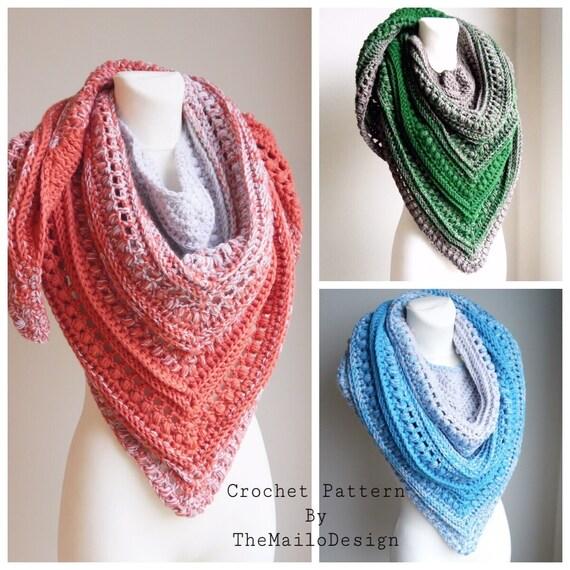 Free Crochet Pattern Free Crochet Scarf Pattern Crochet Etsy