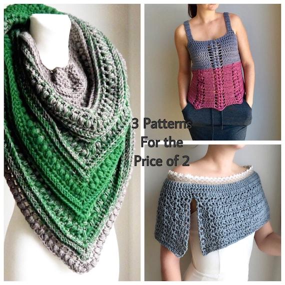 Crochet Pattern Women Free Crochet Pattern Crochet Shawl Etsy