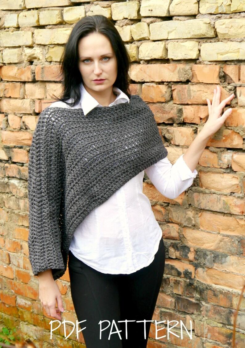Crochet Sweater Crochet Sweater Pattern Crochet Pattern Etsy