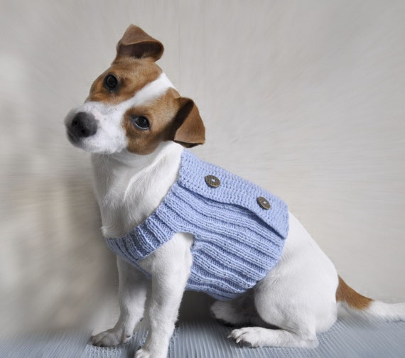 Knitting Pattern Dog Sweater Pattern Knit Dog Sweater Etsy