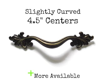 Generous Antique Metal Drawer Ring Pull Architectural & Garden
