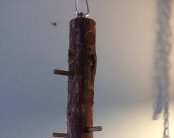 All Cedar Wood Suet BirdFeeder Log Made Especially 4 U to Feed the Birds!  X-8