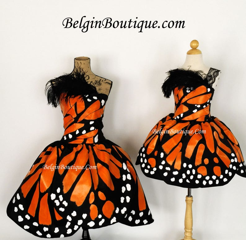 Pageant Costume Butterfly Dress Glitz Texas Butterfly Monarch image 0
