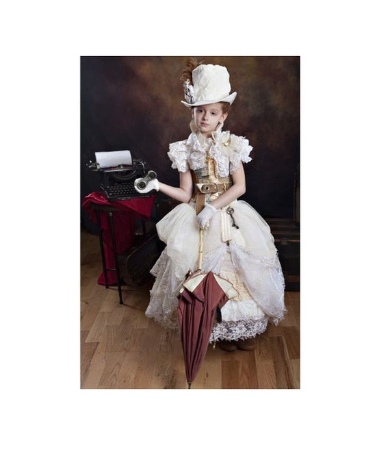 steampunk girl costumes