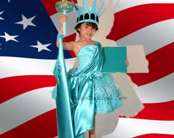 custom order for Tiffany Cautilli Statue of Liberty dress