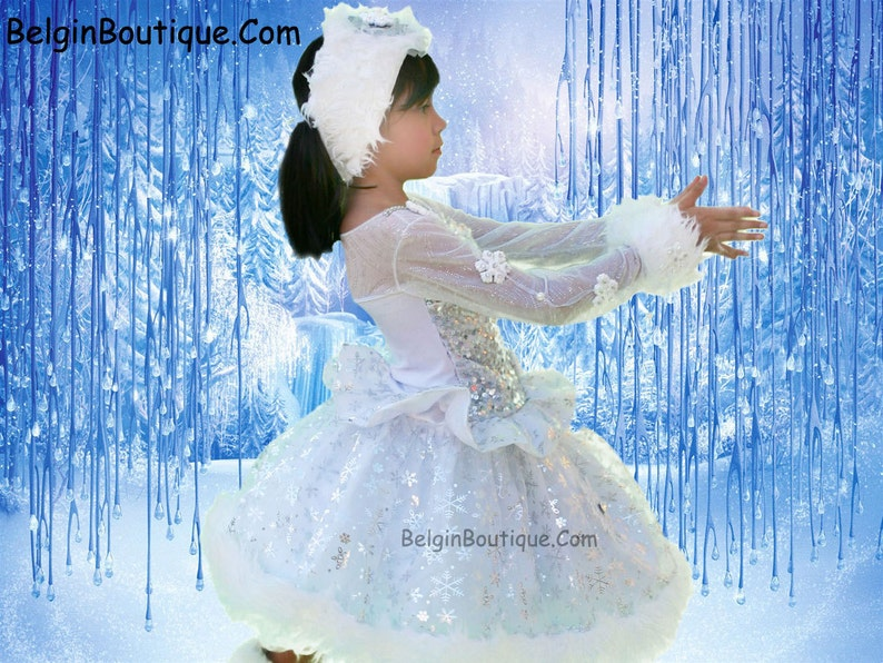 Pageant OOC winter wonderland Christmas Snow Frozen Ice Skate image 0