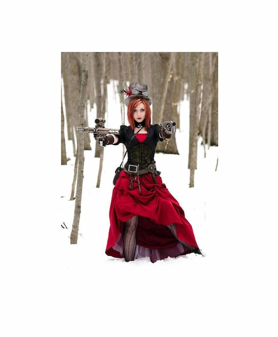 Vampire Hunter Halloween Costume.Christmas Steampunk Little Girls Babies Toddler Cosplay Etsy