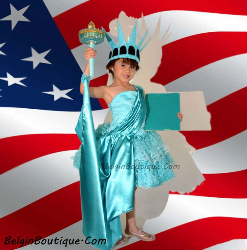 Pageant Patriotic OOC Costume Statue of Liberty casual wear image 0