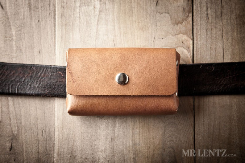 Card Pouch Card Case Card Wallet Leather Card case 061-BELT Credit Card Wallet with Belt Loop Leather Card Wallet