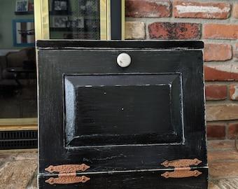 Rustic Bread Box, Kitchen Storage, Rustic Kitchen,  Farmhouse Kitchen