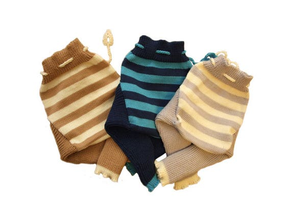 15e6acbb6 Soaker S M L STRIPED 100% merino wool diaper nappy cover