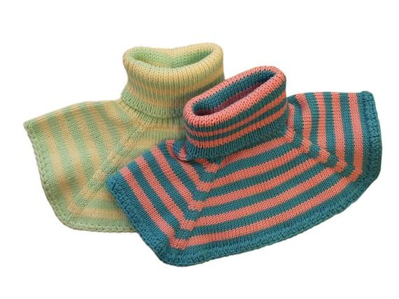 100/% lana merino Balaclava cappello invernale bambini ragazze ragazzi lavorato a maglia