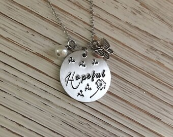 Infertility Necklace, Adoption Necklace, Infertility Warrior, Mother's Day Gift, Baby Dust, Adoption Jewelry, Infertility Jewelry, TTC, Hope