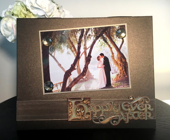 Happily Ever After Wedding Engagement Rustic Engagement Bridal Etsy
