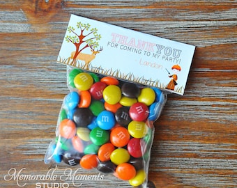PRINTABLE CANDY BAG labels Little Hunter Collection - Deer Hunting Party - Memorable Moments Studio
