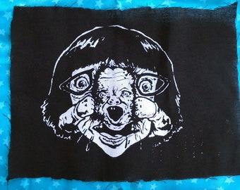 DEAD BABY horror PATCH brilliant zombie opus super gorey super bloody super hilarious