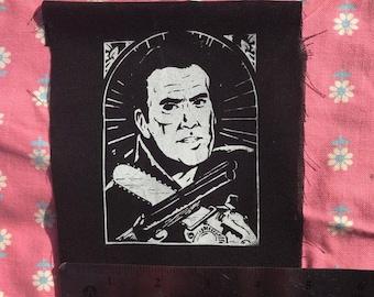SAINT ASHthe patron saint of chainsaws shotguns and shopping s mart PATCH