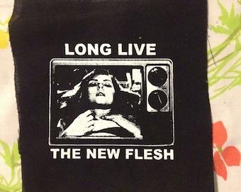 HORROR love livee the new flesh PATCH debie harry scene