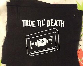 VHS PRIDE PATCH true til death