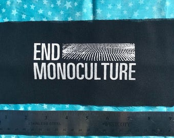 END MONOCULTURE patch corn is great and all but lets not destroy the earth over it come on people
