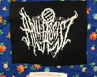ANTI FASCIST PATCH death metal or black metal or grindcore but the point is its not white metal