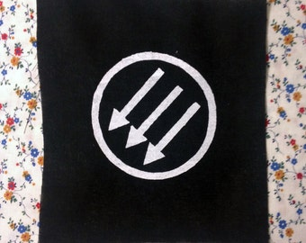 ANTIFA PATCH screenprinted and sadly extremely appropriate here in 2017