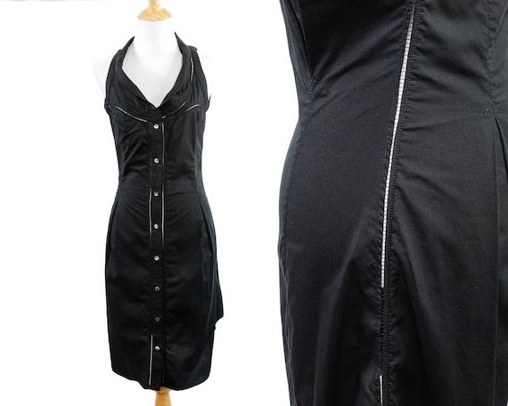 Hussein Chalayan Lightweight Black Cotton Shirtdre