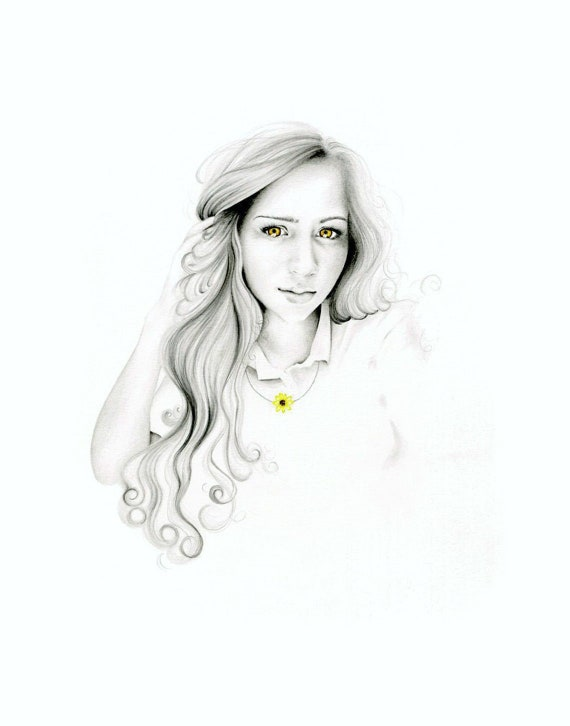 Custom Pencil Drawing Personalized Gift.