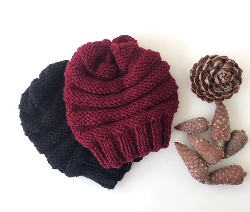 Womens Hat Slouchy Women Hat Slouch Beanie Chunky Knit Hat Women Slouchy Knit Hat Hand Knit Hat Womens Hat