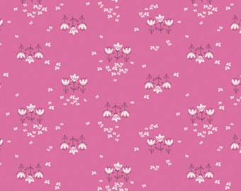 Art Gallery Fabrics, Posy Chain Pinktense, Playground--Quilters Cotton Fabric for Masks, OEKO-TEX Standard 100 Certified--PLG-22345