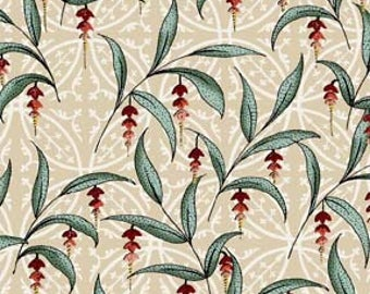 Bohemian Elegance Fabric by Jason Yenter for In the Beginning Fabrics, 5BE-1 Antique French Flowers