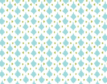 Amira, Camelot Fabrics, Designed by Elizabeth Silver, Diamond in White, Fabric by the Yard, SKU: 27170104 #2