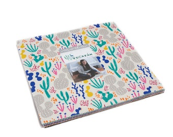 Yucatan Layer Cake by Annie Brady for Moda Fabrics, 42 pieces 10x10 inch squares--16710LC