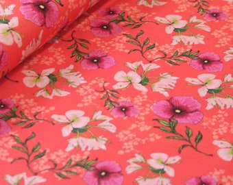 Club Havana Main Coral, Riley Blake Designs, Club Havana by Patty Young. 100% cotton fabric by the yard, C7280-CORAL