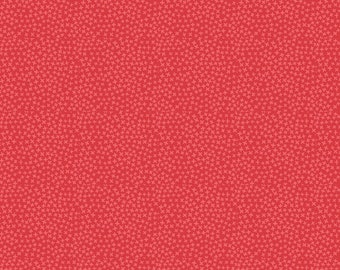 Dear Stella Fabrics, Jax in Tigerlily Red, Fabric by the Yard and Fat Quarters, Quilting Fabric, ST-1560TIGER