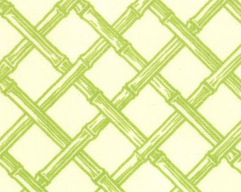 Lily Ashbury Fabric, Trade Winds by Lily Ashbury for Moda Fabrics, 11458-11 Malabar Green