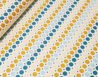 My Mind's Eye Fabric, So Sophie by Jen Allyson for My Mind's Eye, Riley Blake Fabrics, C2703 Blue Dots