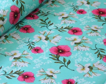 Club Havana Main Aqua, Riley Blake Designs, Club Havana by Patty Young. 100% cotton fabric by the yard, C7280-AQUA