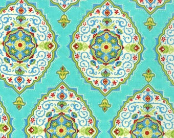 Lily Ashbury Fabric, Trade Winds by Lily Ashbury for Moda Fabrics, 11454-13 South Pacific