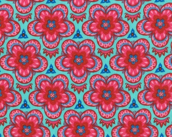 Lily Ashbury Fabric, Trade Winds by Lily Ashbury for Moda Fabrics, 11456-13 South Pacific